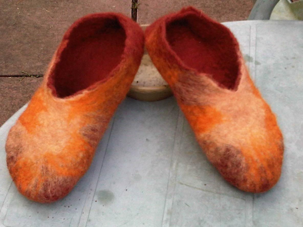 workshop slippers - bronze/gold/sunshine