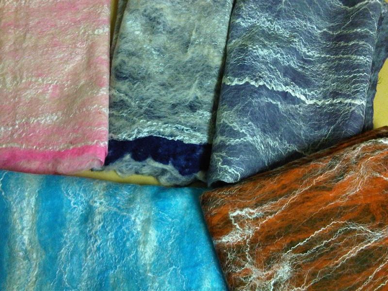 cobweb scarf selection